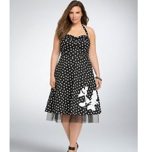 Disney halter Mickey & Minnie dress